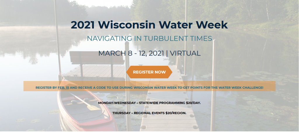 wisconsin water week web page